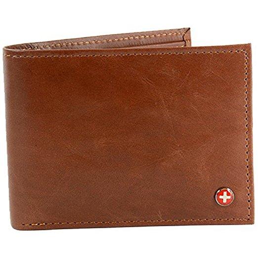 Alpine Swiss RFID Safe Wallet