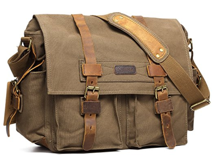 kattee canvas camera bag