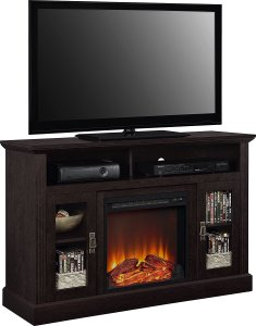 Ameriwood Home Electric Fireplace TV Console