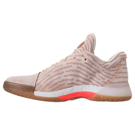 Adidas harden basketball shoe pink finish line