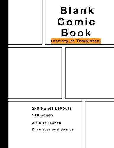 blank comic variety layouts
