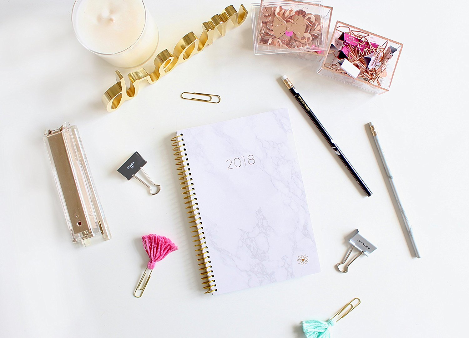 2018 planner best agendas organizer chic professional craft