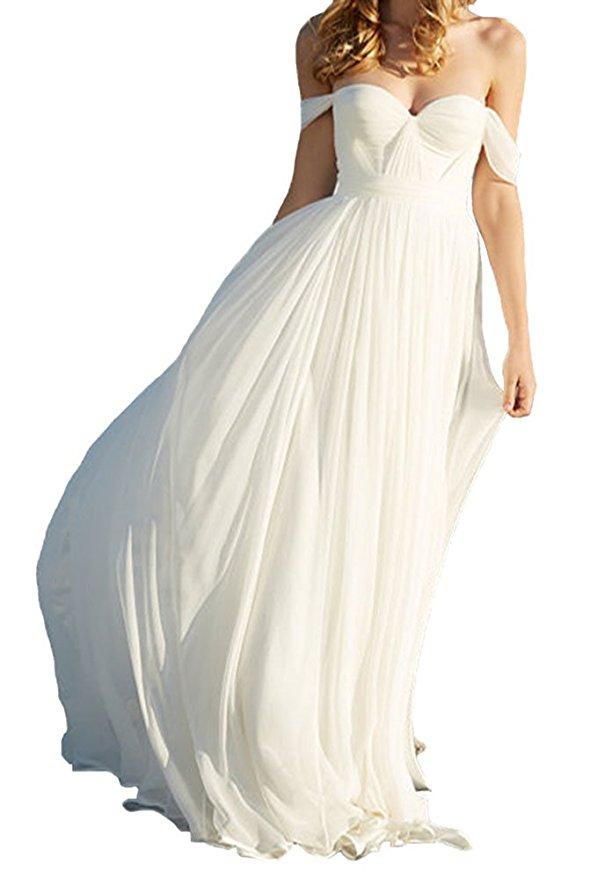 cheap wedding dresses best bridal gowns amazon under $200 beach bohemian