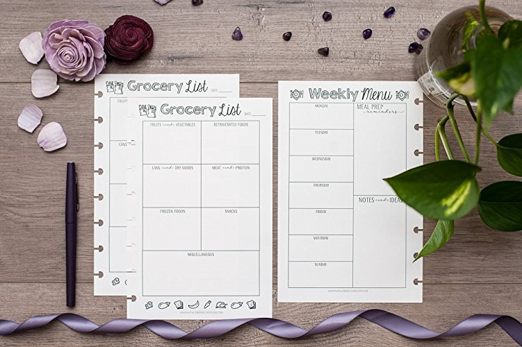 meal prep how to get started essentials planning bundle mini happy planner