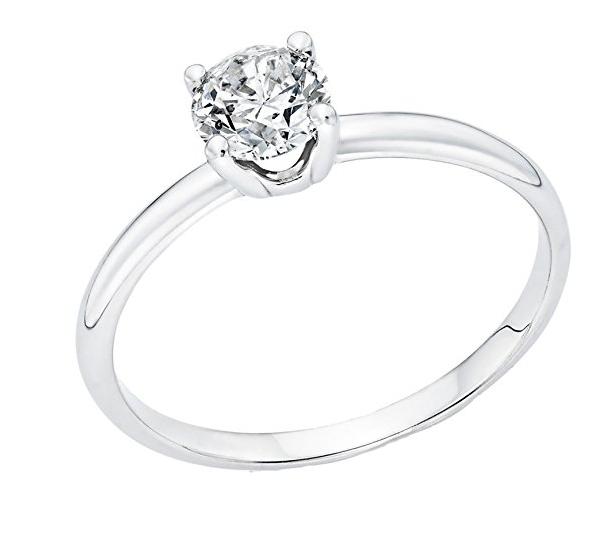 NDStore 14k engagement ring amazon