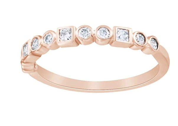 Rose gold engagement ring amazon