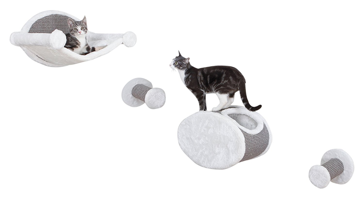 modern furniture for pets Mid-Century products cat shelf