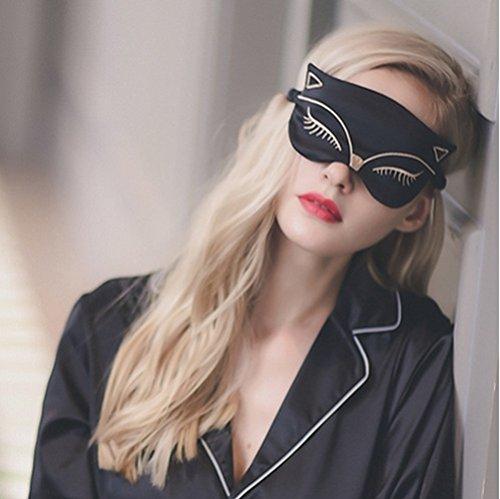 Cat Silk Sleep Mask by Aimell