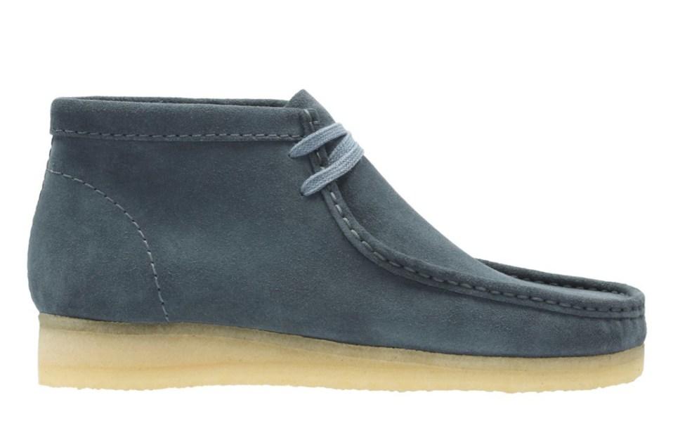 Clark's wallabee boots