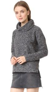 Cowl Neck Sweater by Bobi