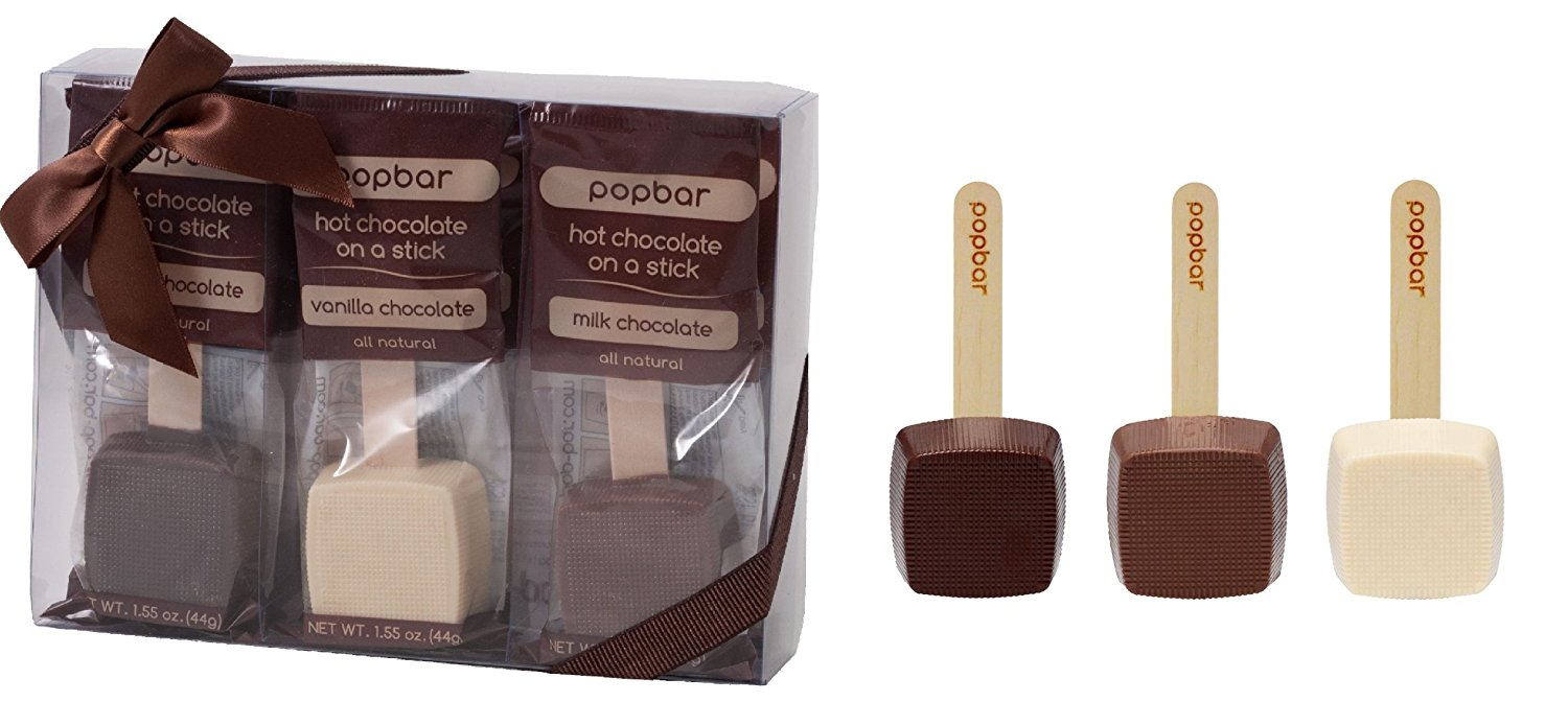 ​​Hot Chocolate on a Stick - 3 Pack Variety Gift Box by Popbar