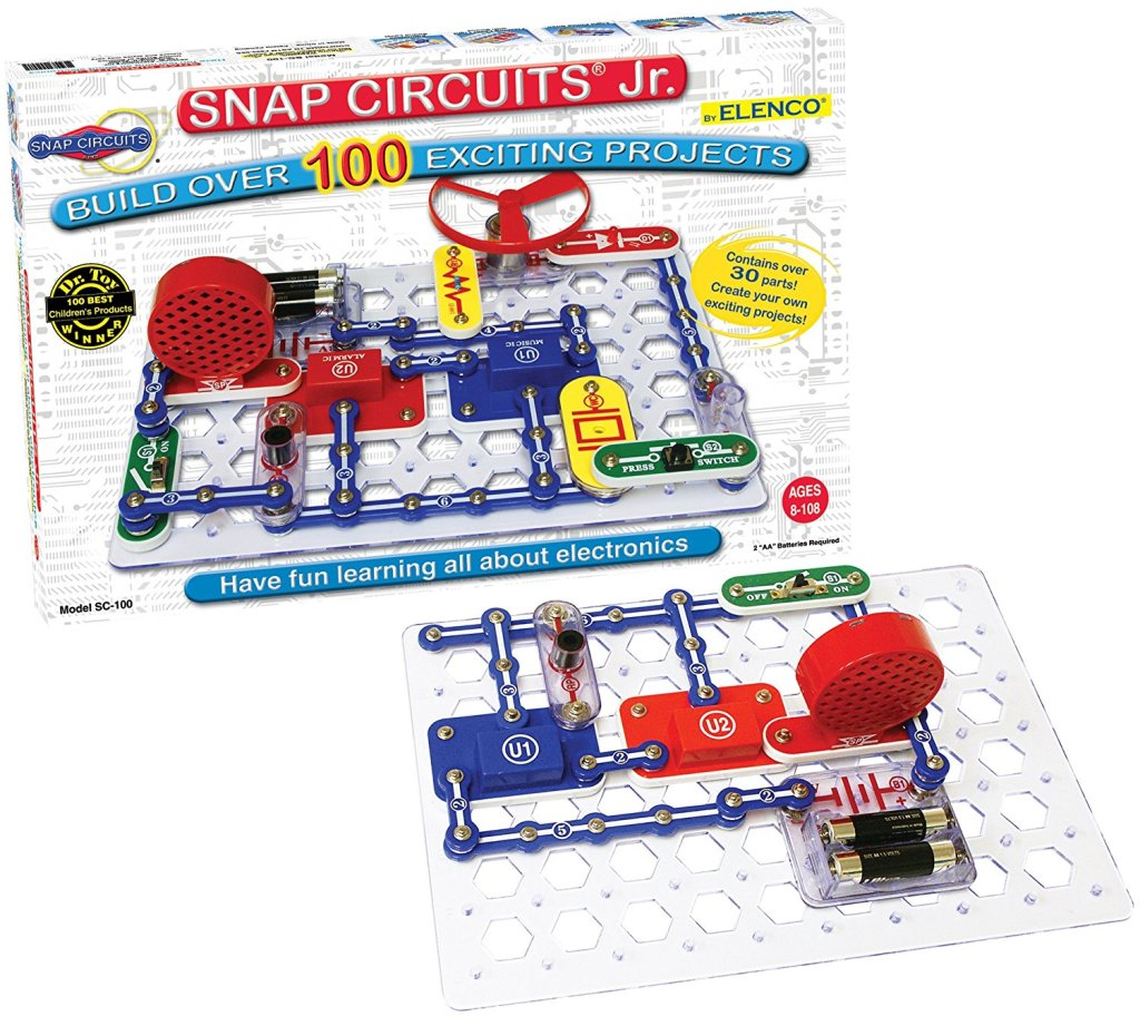 Elanco Snap Circuits Jr. SC-100 Electronics Discovery Kit