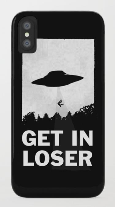 get in loser phone case