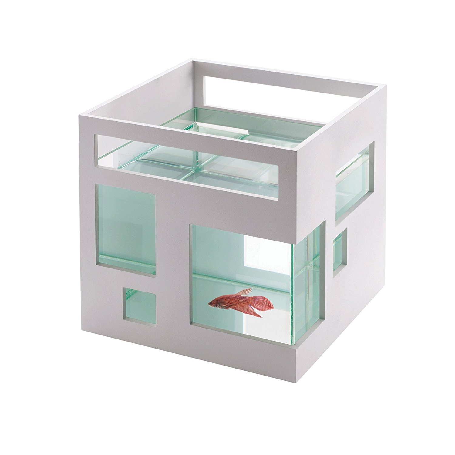 modern furniture for pets Mid-Century products fish tank hotel condo