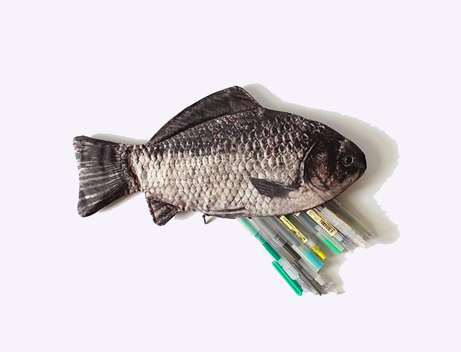 Funnylive Fish Pencil Case