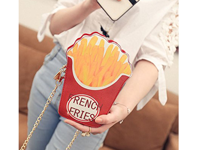 Easydeal French Fry Crossbody Bag