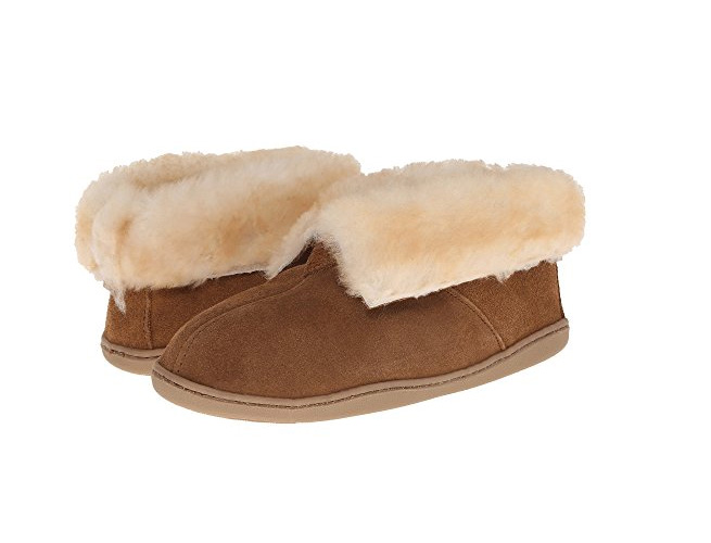 Minnetonka Shearling Ankle Boot