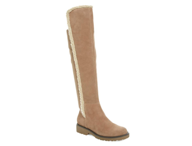Sole Society Faux Shearling Boot