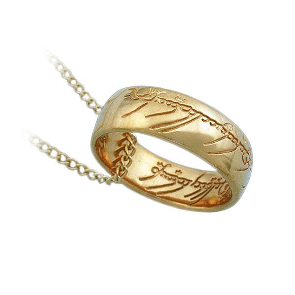 gollum ring necklace