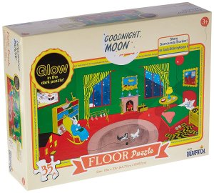 Goodnight Moon Glow in the Dark Puzzle by Bepuzzled