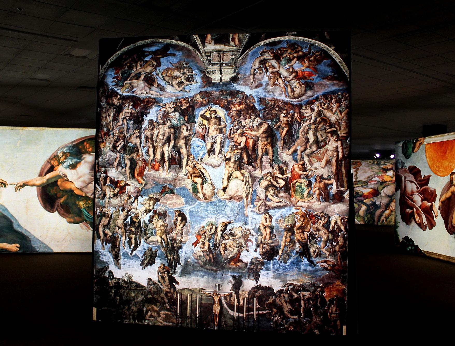 Michelangelo Up Close Exhibit Westfield