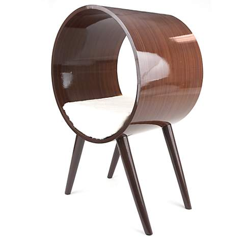 modern furniture for pets Mid-Century products cat tunnel infinity bed