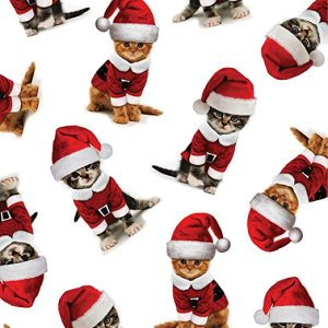 Kitty Christmas Wrapping Paper