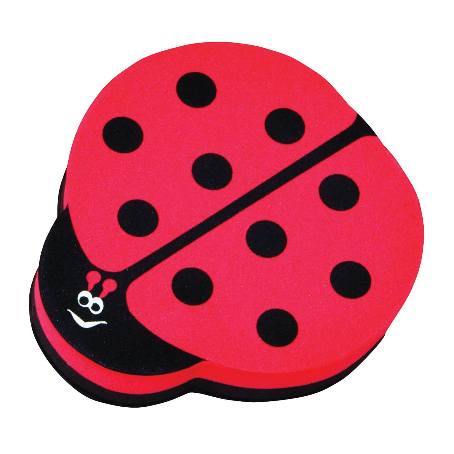 Ladybug Magnetic Whiteboard Eraser by Ashley Productions