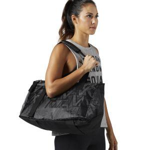 Reebok Lead & Go Graphic Grip Duffle Bag