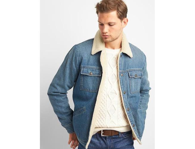 Gap Icon Shearling Jacket
