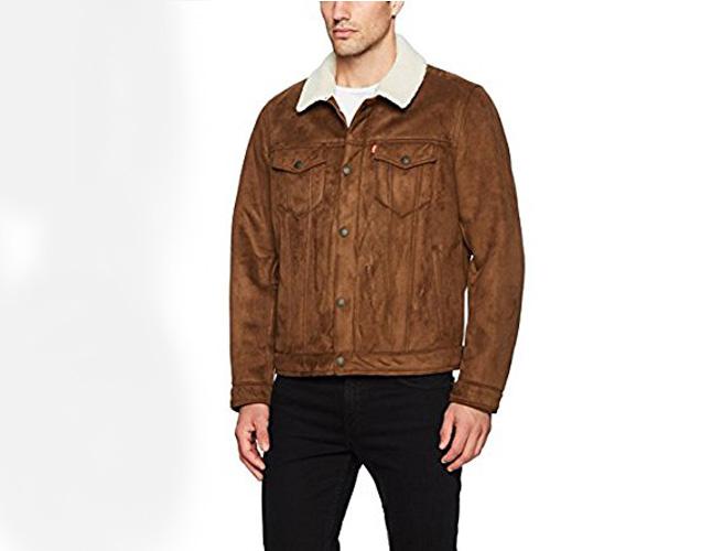 Levis Faux Shearling Sherpa Trucker Jacket