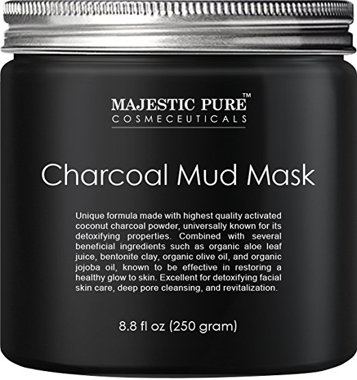 blackhead removal best skincare products decongest pores charcoal mud mask