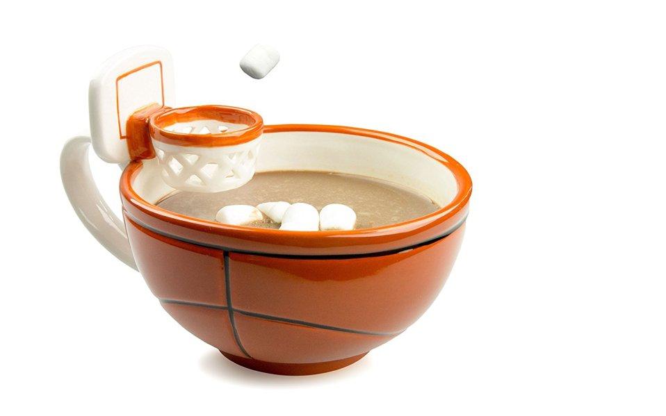 mug with hoop feature