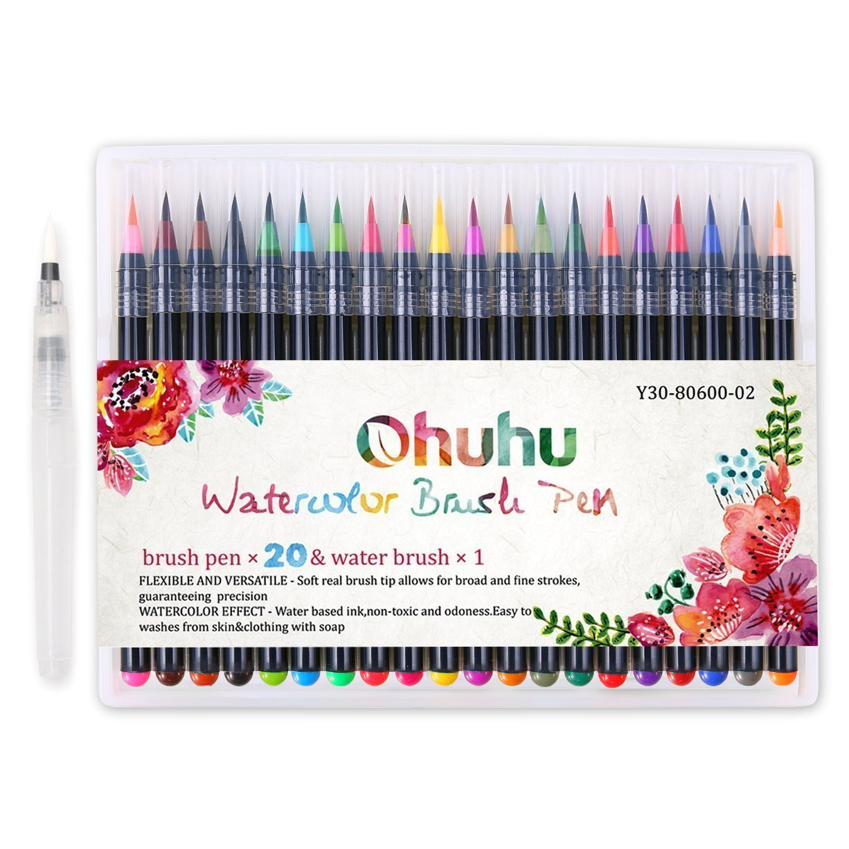 ohuhu brush marker set