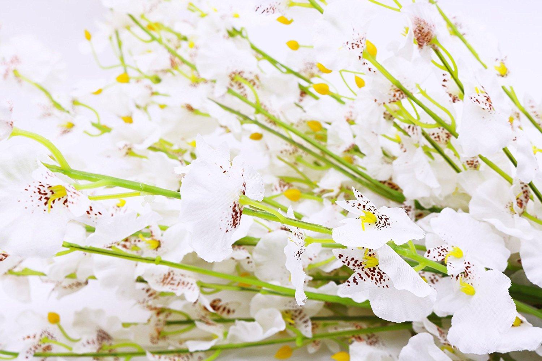 artificial flowers best arrangements silk fake dancing lady orchid