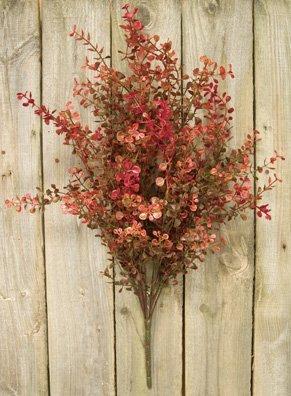 artificial flowers best arrangements silk fake peppergrass bush