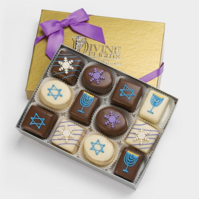 Hanukkah 2017 best gifts for everyone petit fours chocolates