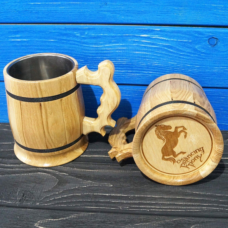 prancing pony mug
