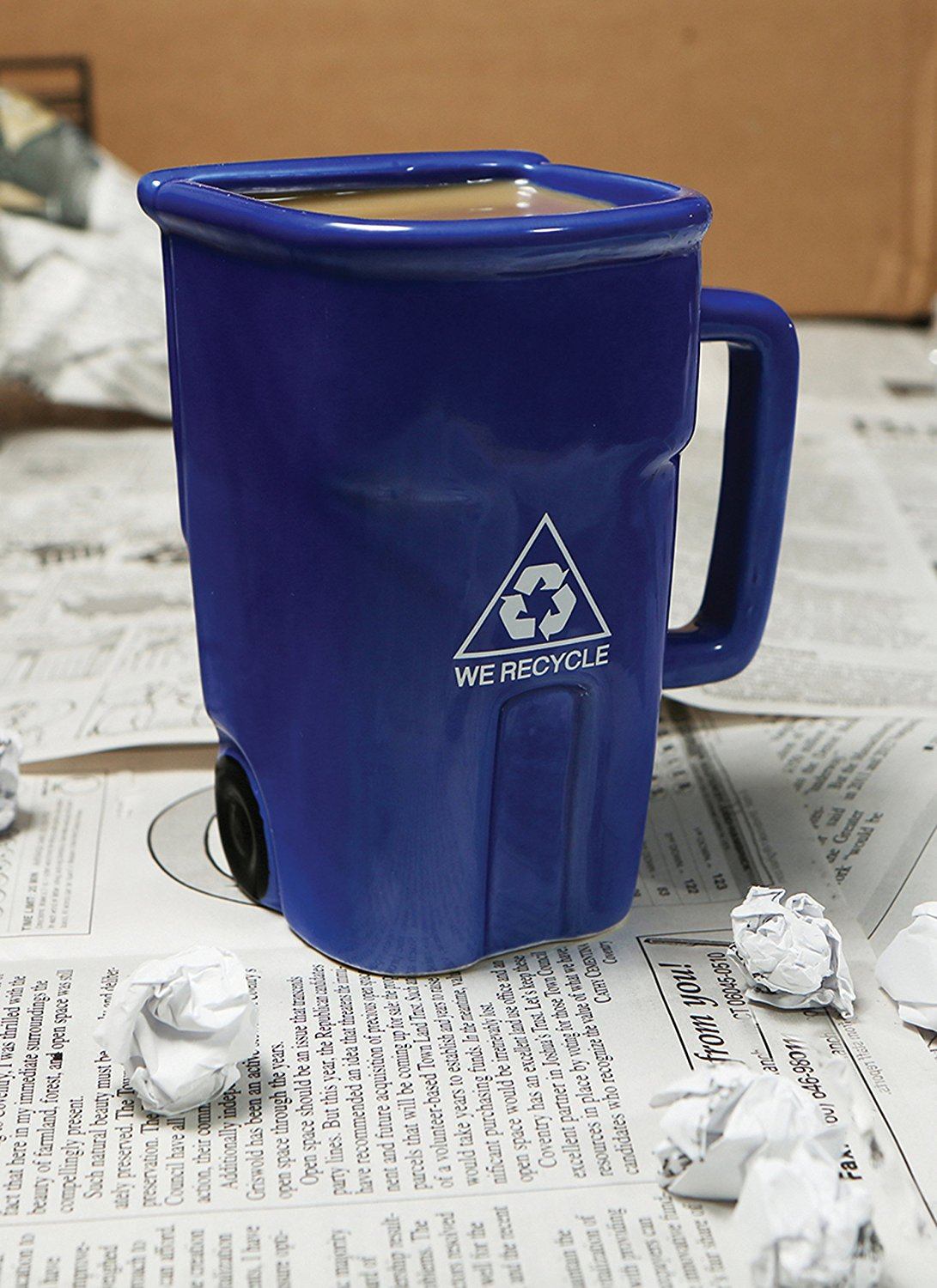 recycle mug feature