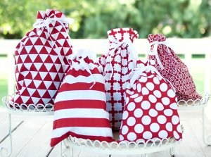 Reusable Fabric Gift Bags by Appleby Lane