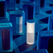 Tech Gadgets Amazon Echo voice-controlled speakers go on sale, UK - 27 Sep 2016