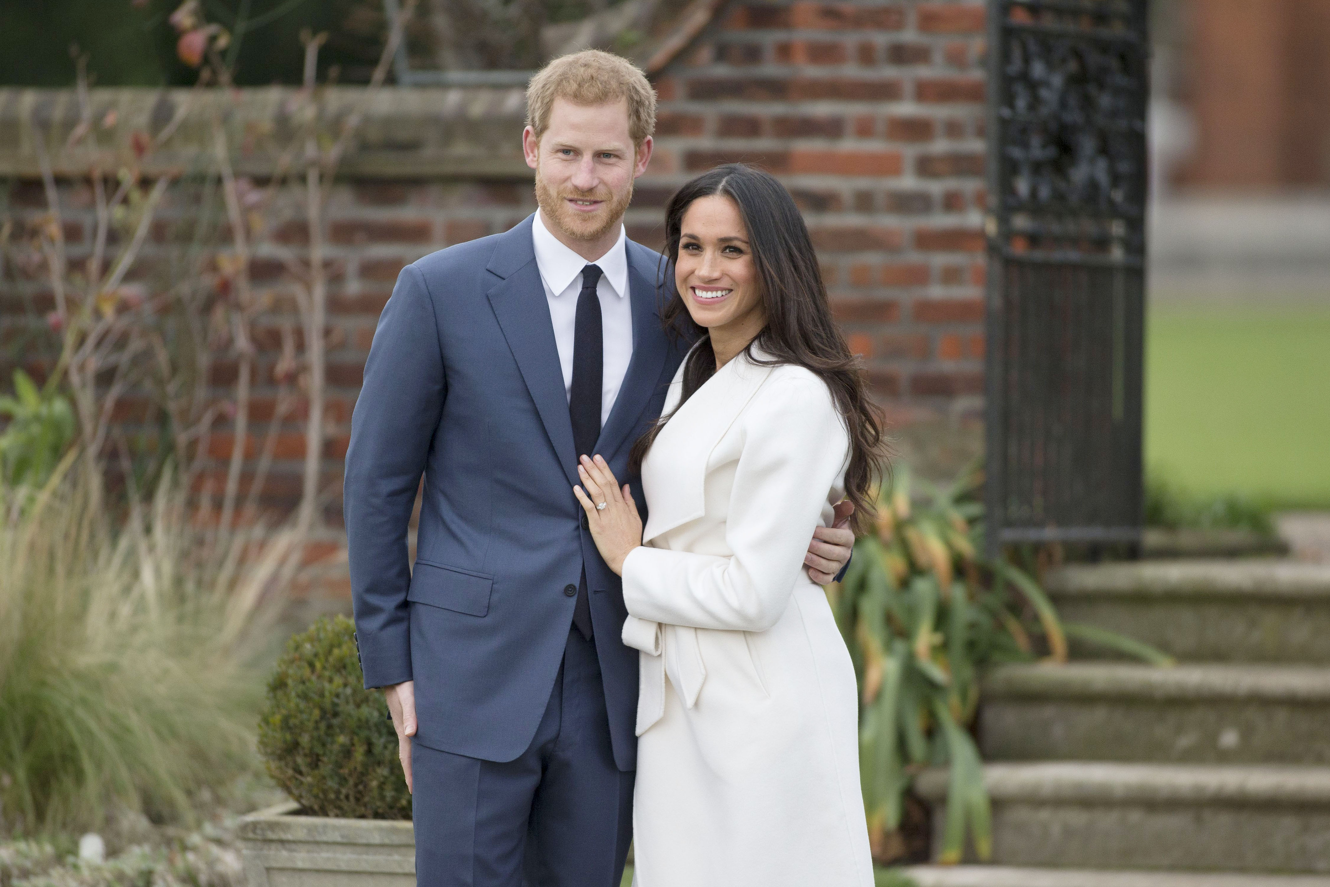 Prince Harry and Meghan Markle engagement announcement, Kensington Palace