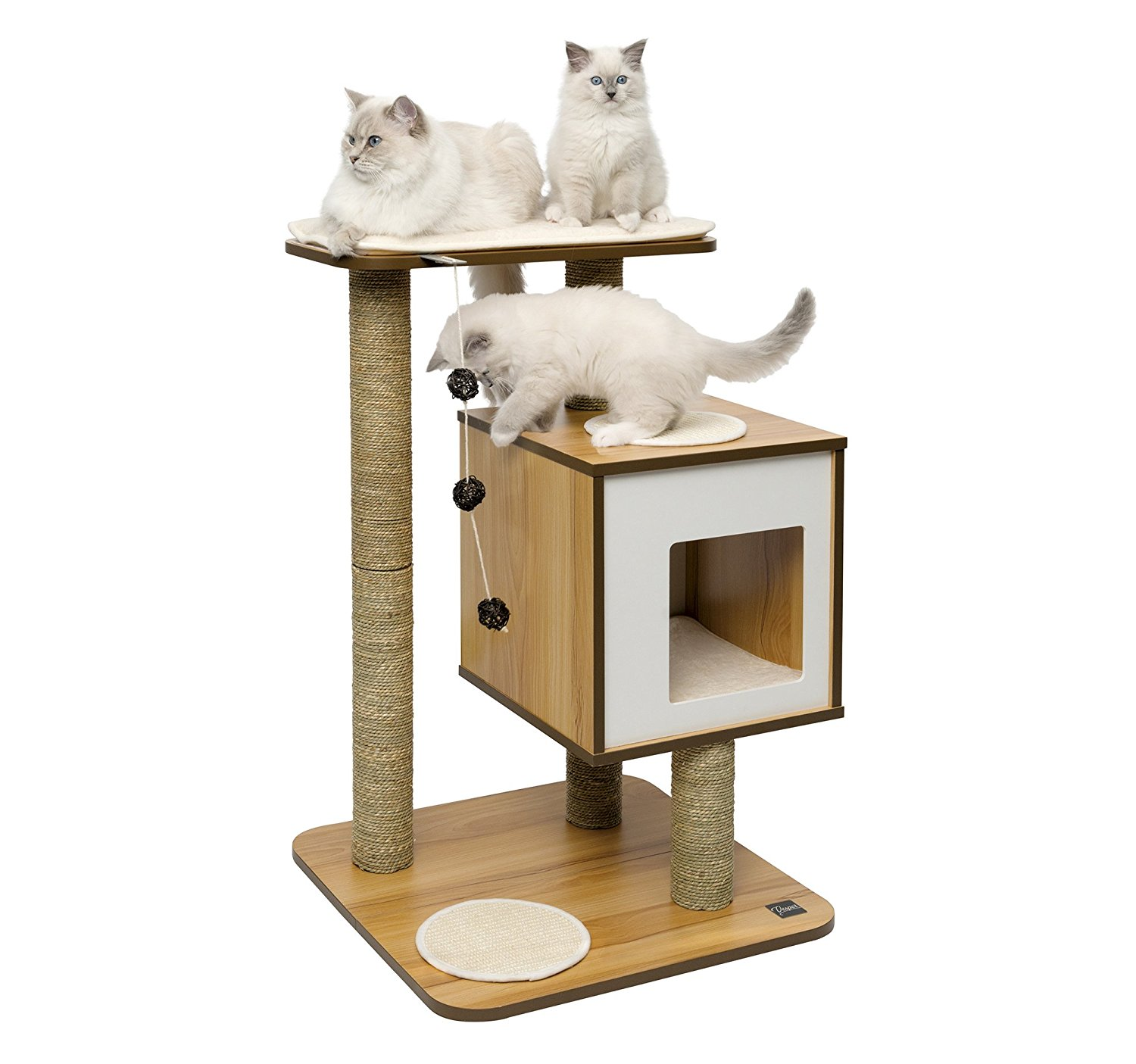modern furniture for pets Mid-Century products cat scratching post