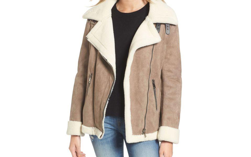 sherpa jackets