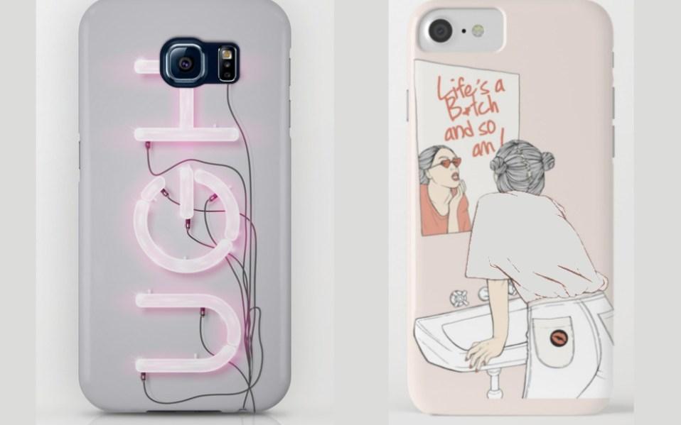 slogan phone cases