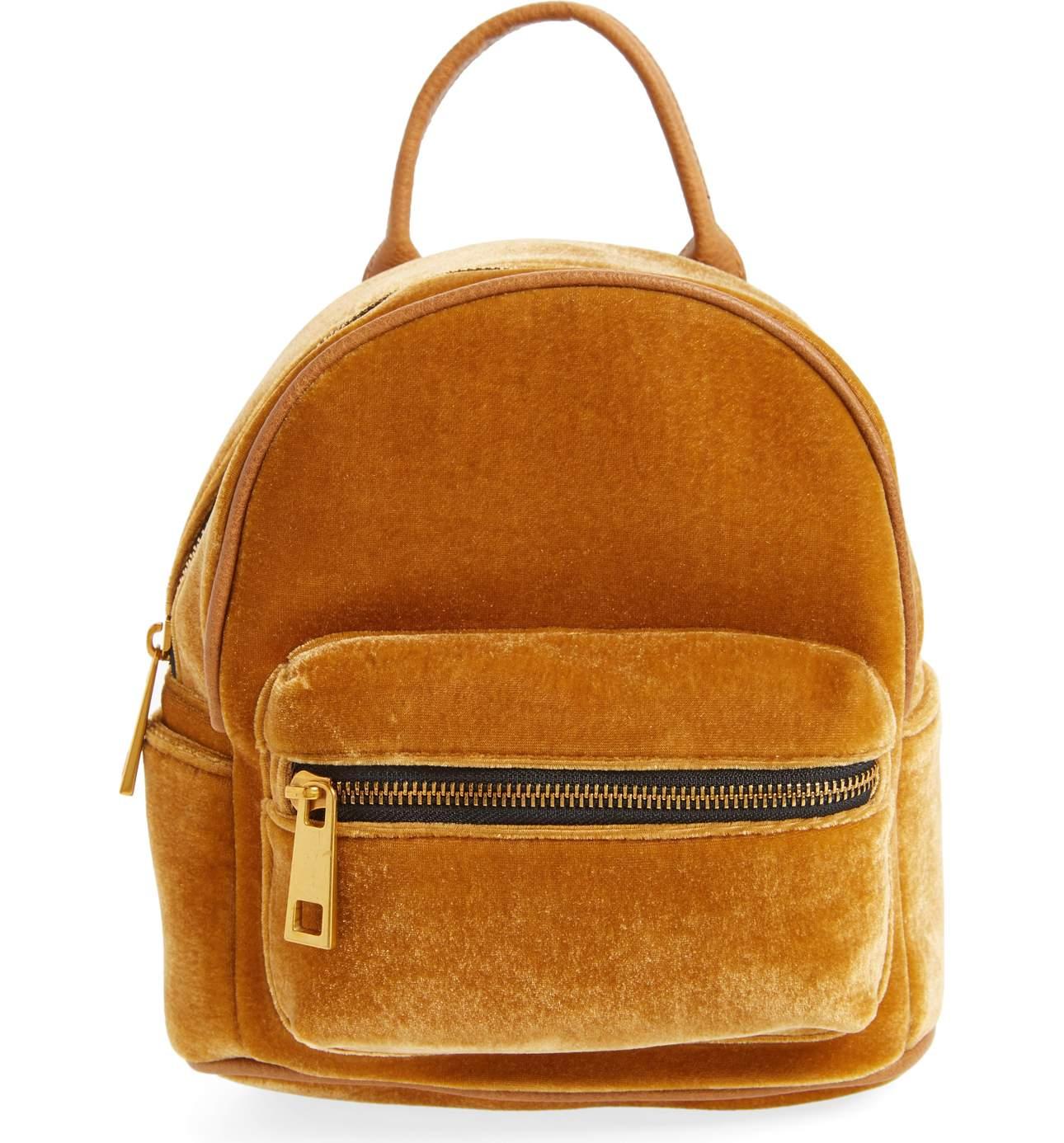 STREET LEVEL Velvet Backpack
