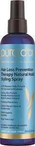 thinning hair best treatments men women styling spray