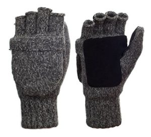 Suede Thinsulate Thermal Insulation Mittens Gloves by Metog