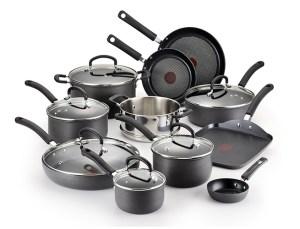 Non-stick cookware set walmart