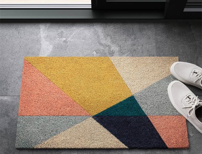 Target Geo Triangles Doormat